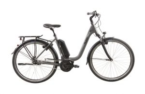 Puch Stadtrad e SL Lady Grey Matt