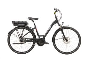 Puch Stadtrad e Lady Coal Black Matt